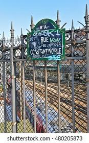 Railway station, Paris, Saint-Lazare