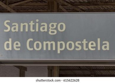 Railway Station in Santiago de Compostela
