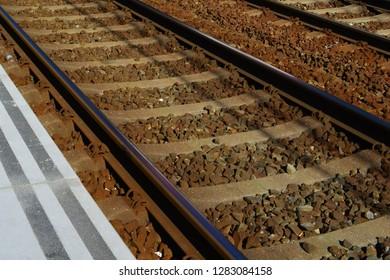 Railway track texture
