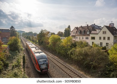 Railway tracks at Aschaffenburg / Germany