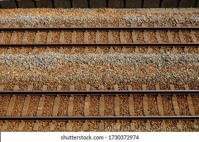 Railway tracks in Kobe, Japan. (Sanyo Electric Railway)