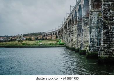 The railway viaduct, Berwick, England