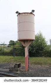 A Railways Classic Water Tower For Steam Trains.