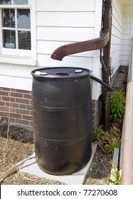 Rain Barrel for recycling rainwater