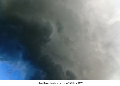 Rain cloud abstract background. Thunderclouds, dramatic storm cloud.