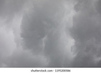 Rain cloud close-up abstract background