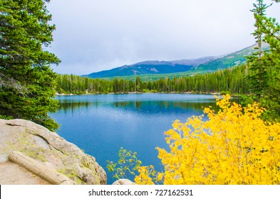 Rain Clouds on Bear Lake