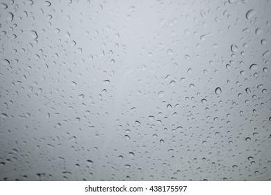 rain drop on a glass