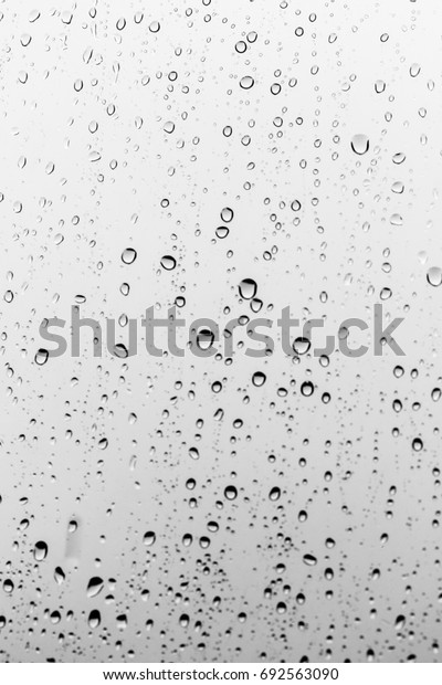 Rain drops on the glass, background