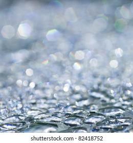 Rain drops - sparkling background