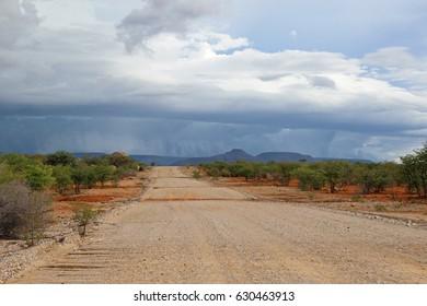Rain Season in Namibia