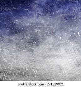 rain with snow background