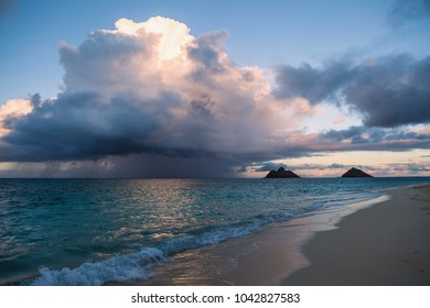 rain squall in hawaii