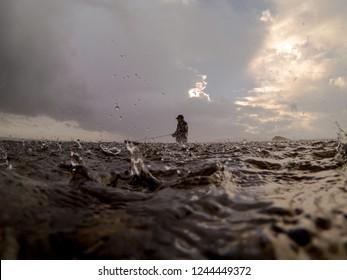 Rain Storm On The Puget Sound