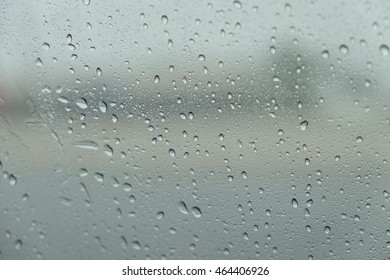 Rain View from car