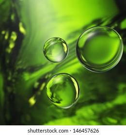 rain water abstract