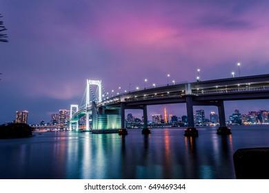 Rainbow Bridge Night photography