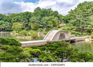 広島・縮景園虹橋