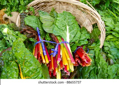 Rainbow Chard at Farmer's Market