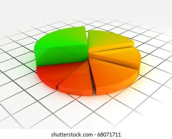 Rainbow color graph