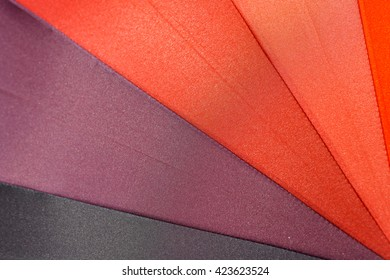 Rainbow Colorful Umbrella Abstract Background.