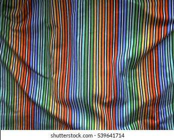 Rainbow fabric texture background