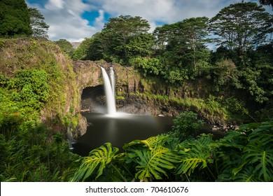 Rainbow Falls, Hilo, Wailuku River State Park, Big Island, Hawaii