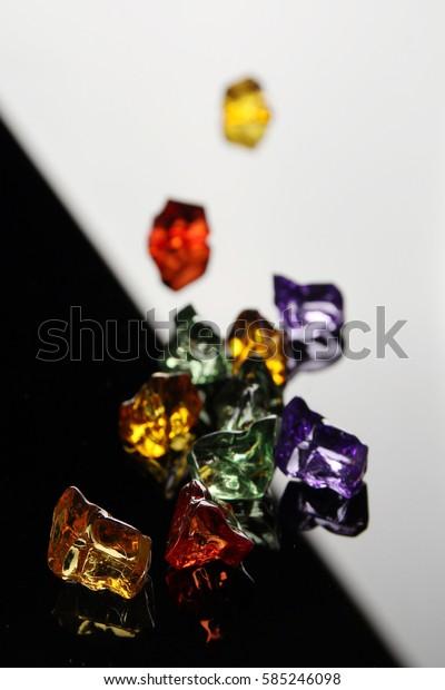 Rainbow Glass Jewelry
