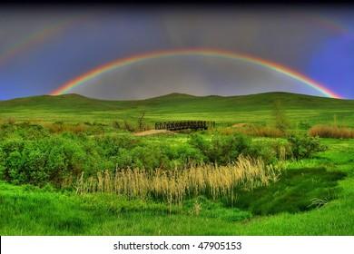 Rainbow hills