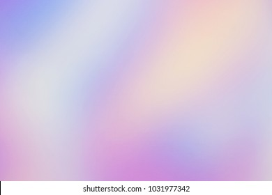 Rainbow Holographic neon blur background. Wallpaper hologram abstract gradient texture