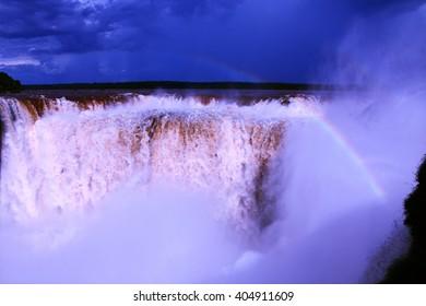 Rainbow in Iguazu National Park