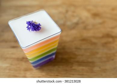rainbow jelly (soft focus)