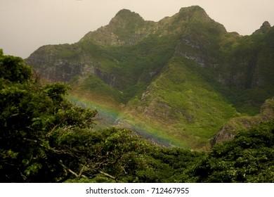 Rainbow at Kailua Ranch