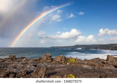Rainbow at Kapalua Bay, Maui, Hawaii