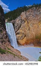 Rainbow at Lower Falls of Yellowstone