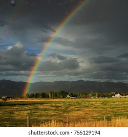 Rainbow in Missoula, Montana