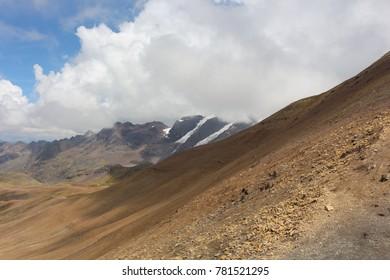 Rainbow mountain - mt Vinicunca