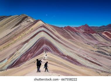 Rainbow Mountain / Peru
