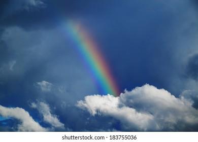 rainbow, natural phenomenon.