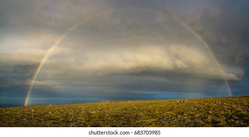 Rainbow in Northcape