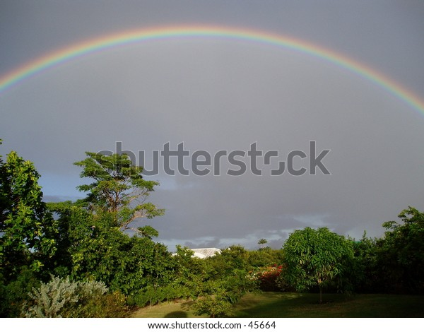 Rainbow on the West Coast