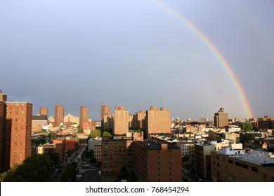 Rainbow over East Harlem