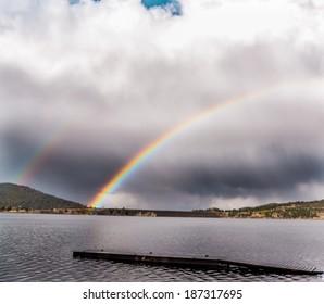 Rainbow Over Pactola Lake