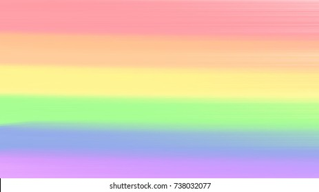 Gay Pride text isolated on pastel colors background