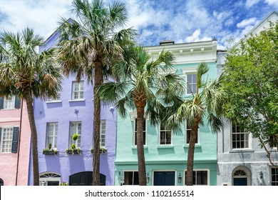 Rainbow Row Charleston South Carolina