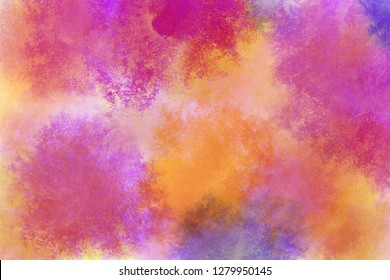 rainbow watercolor pink yellow orange blue violet purple red magenta cyan texture background wallpaper