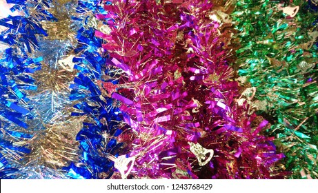 rainbows party new year colorful background