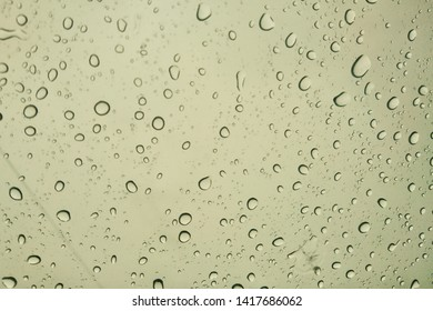 raindrops on grassroots background water texture
