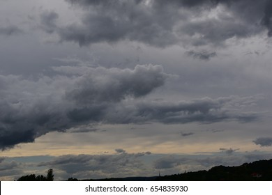 Raining clouds