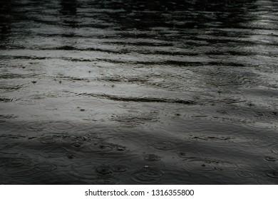 raining, flood - background